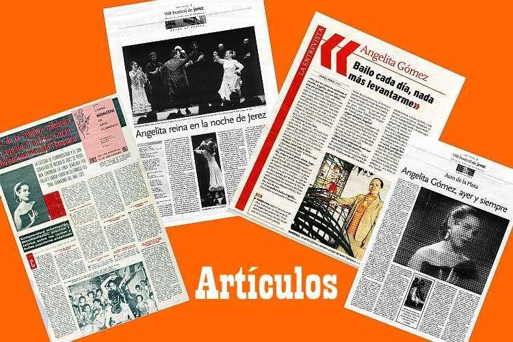 ARTICULOS SOBRE ANGELITA GOMEZ