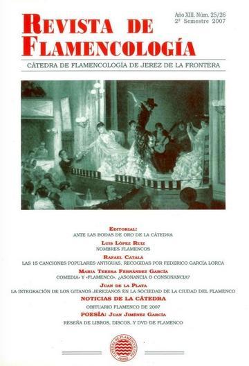PORTADA REVISTA DE FLAMENCOLOGIA 25-26